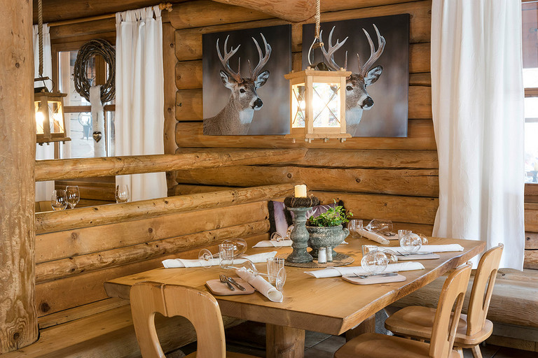 The Garfrenga restaurant at Alpencamping Nenzing serves delicacies from the regional cuisine