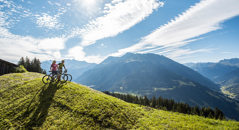 Mountainbiken at the Montafon © Montafon Tourismus_Daniel Zangerl