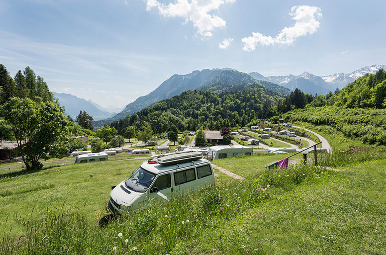 One and only Leading camping lot in Voralberg with the best facilities