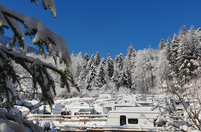 Wintercamping in Nenzing