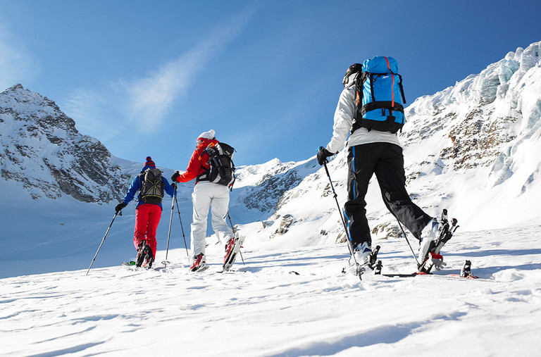 Ski touring paradiese at the Montafon © Illwerke Tourismus Alex Kaiser