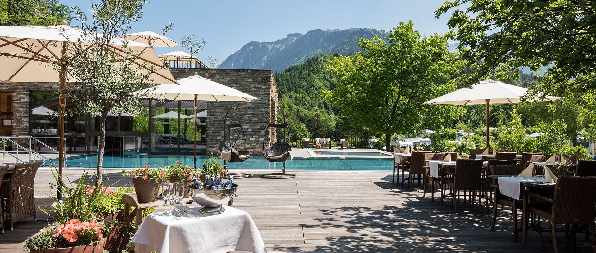 Spa camping on Vorarlberg's only Leading Camping site in Austria.
